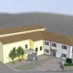 Casa Parrocchiale e spazi esterni