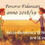 Percorso Fidanzati al Matrimonio Cristiano 2018/19