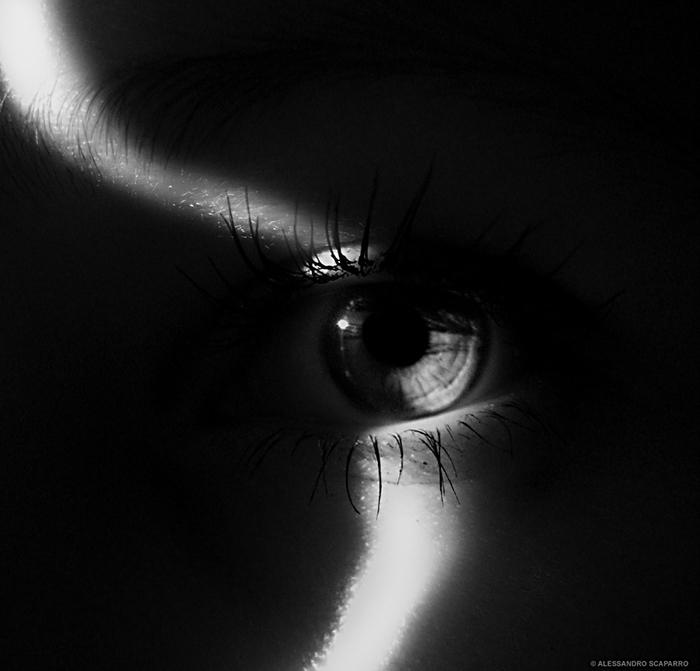 occhio buio