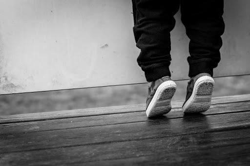in punta di piedi (immagine)